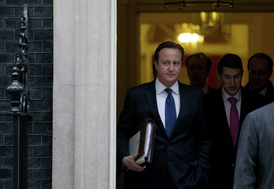 Prime Minister David Cameron supports a vote on EU membership.