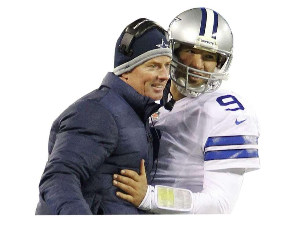 Cowboys coach Jason Garrett and QB Tony Romo haven't experienced a lot of sustained success.