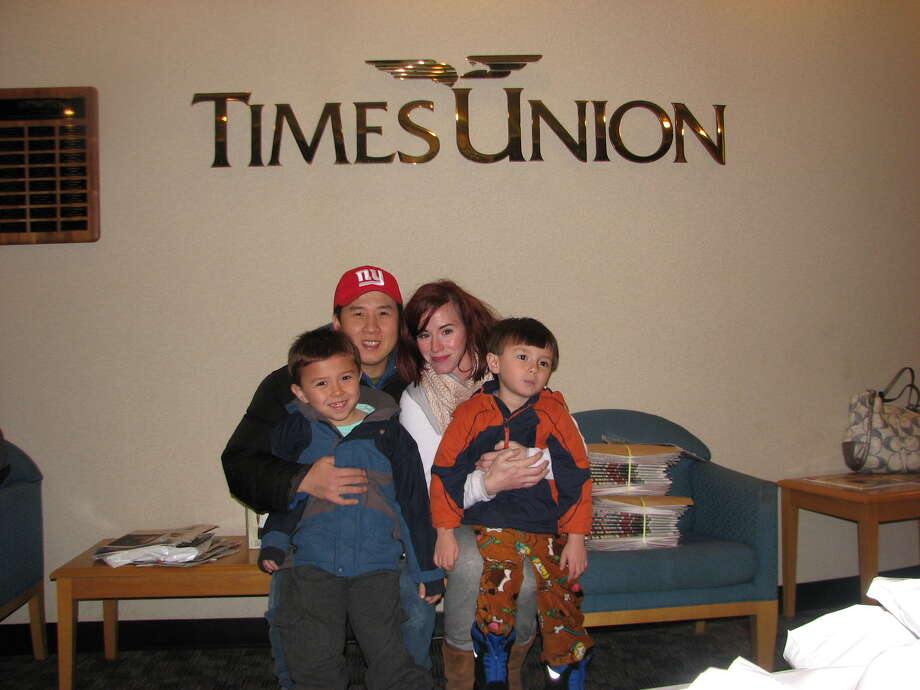 Were you Seen picking up the Thanksgiving Day Times Union newspaper a day early on Wednesday, Nov. 2013? Photo: Casey SoHyeun Cho