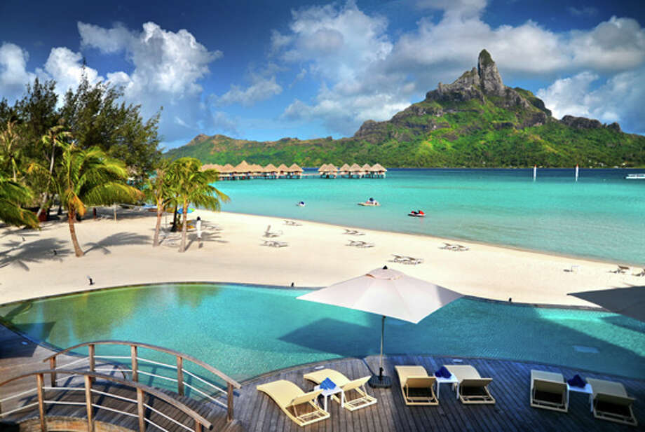 "Three Starwood-affiliated resorts in French Polynesia, including Le Meridien Bora Bora (pictured), have an early ""Cyber Monday"" promotion valid now through Dec. 6 that offers deal offer 10 percent off prepaid stays through April 27. The same offer (online code NADCYB) includes discounts of 20 to 40 percent off participating resorts in the United States, Canada, Mexico, the Caribbean and Central and South America. See www.starwoodpromos.com/cybermonday-resorts/ for details. Photo: Le Meriden Bora Bora"