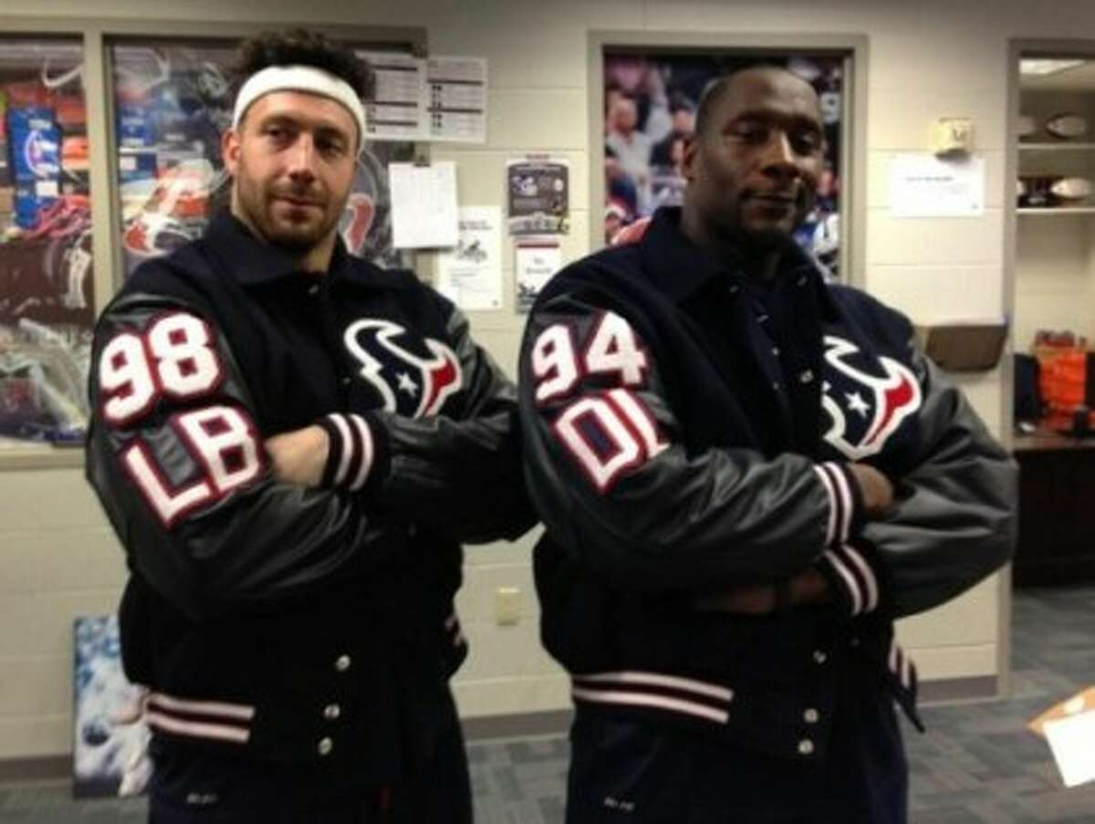 The Texans unlikely to ever again break out the letterman look.