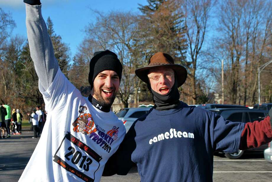 Were you seen at the annual Our Towne Bethlehem Turkey Trot in Delmar on Thursday, Nov. 28, 2013? Photo: Silvia Meder Lilly