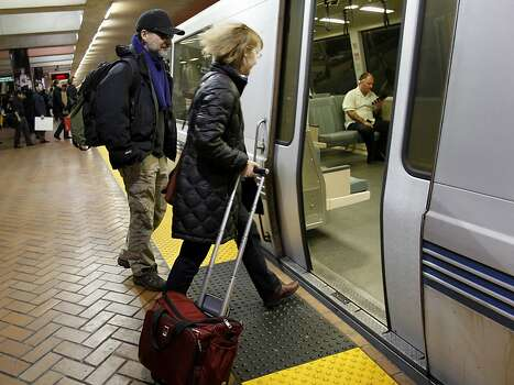 San Francisco residents depend on BART to get around. Let's face it Seattle has been late to the mass transit party. Photo: Brant Ward, The Chronicle