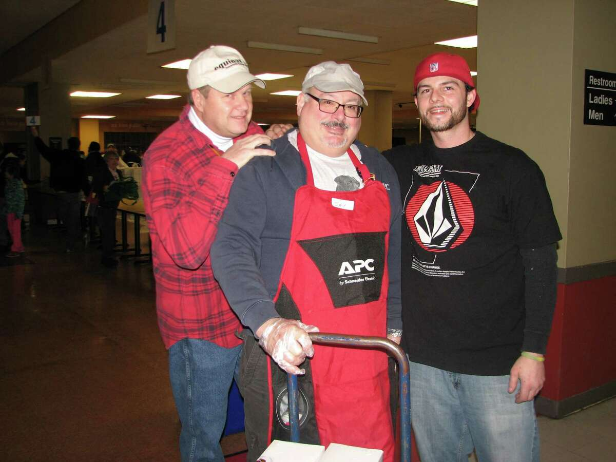 Were you Seen helping with the annual Equinox Thanksgiving Day Community Dinner at the Empire State Plaza in Albany on Thursday, Nov. 28, 2013?