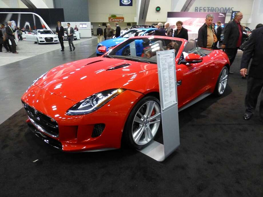 What is life without a Jaguar? This F-type is the car you'd look at if you wanted to spend more than you would on a Corvette. It has a 5-liter 495-horsepower V8 and costs about $92,000.