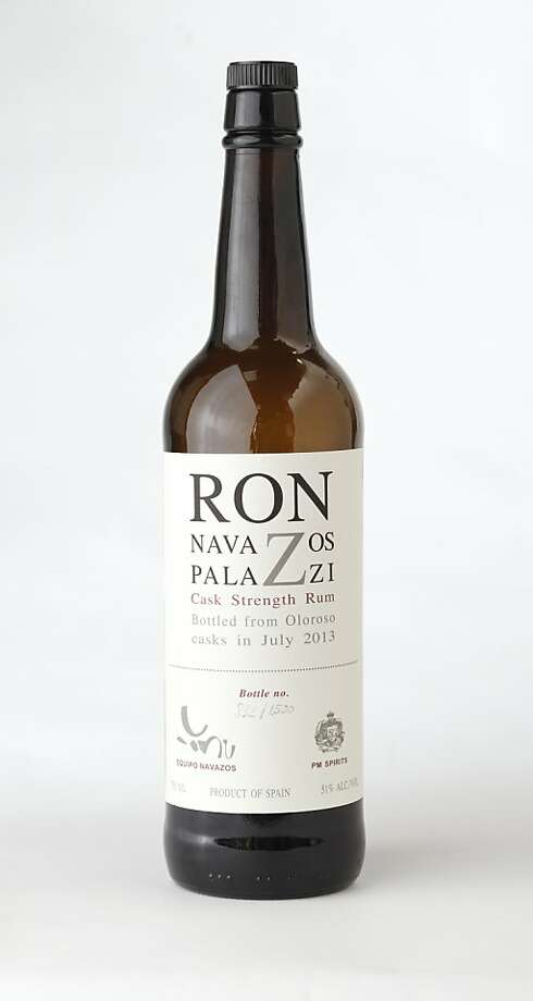 Ron Navazos Palazzi Cask Strength Rum Photo: Craig Lee, Special To The Chronicle