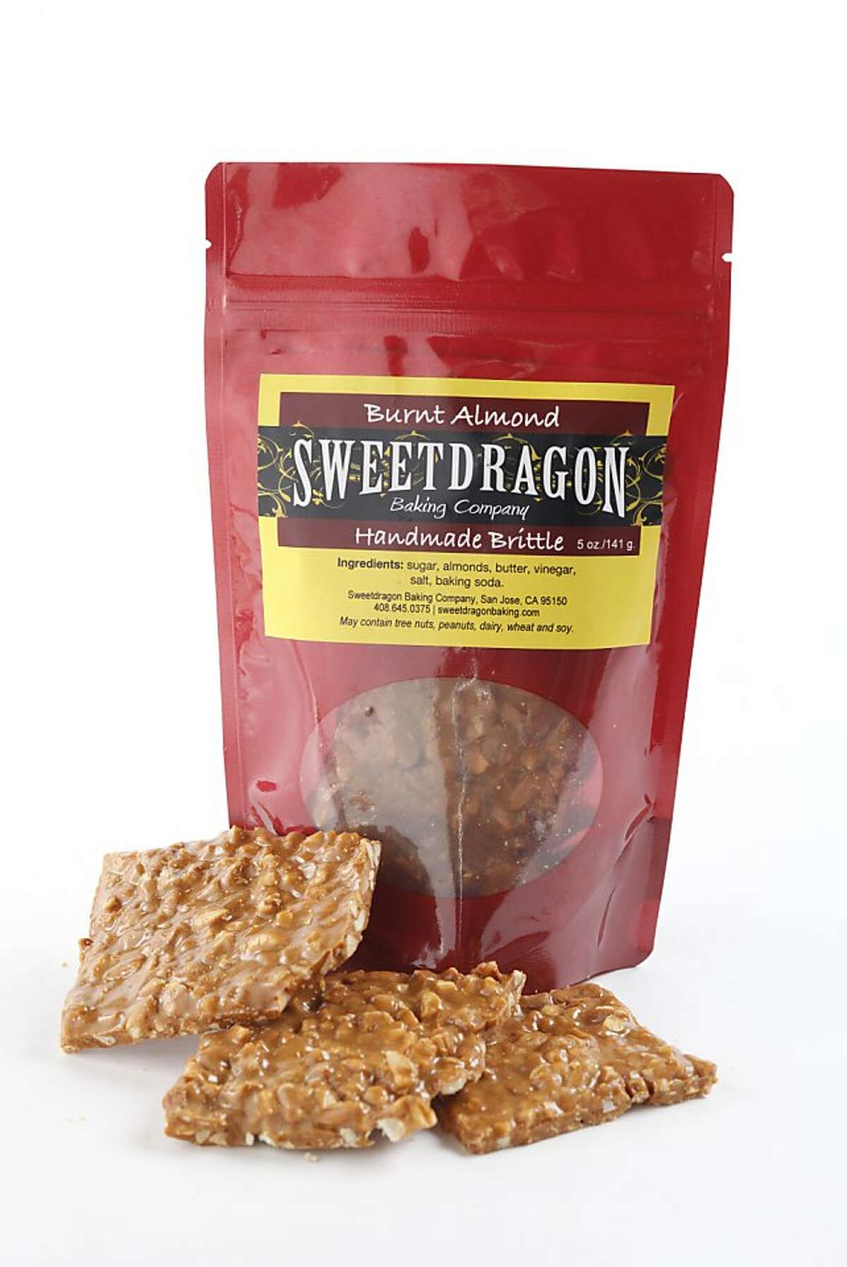 Sweet Dragon Handmade Brittle (made in San Jose) as seen in San Francisco on Wednesday, November 27, 2013.