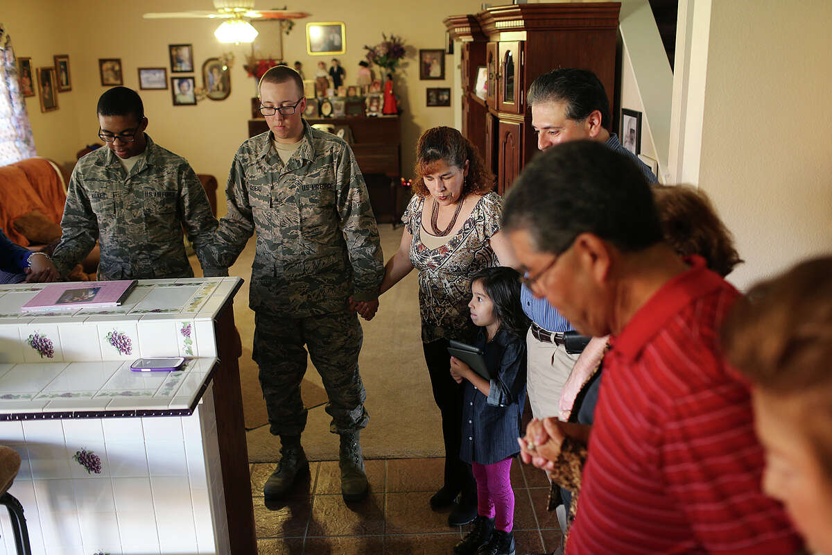 3. New friends in fatigues: Through efforts like Operation Home Cooking, San Antonio families are known to share their homes and Thanksgiving dinners with military personnel who are away from their own during the holidays.