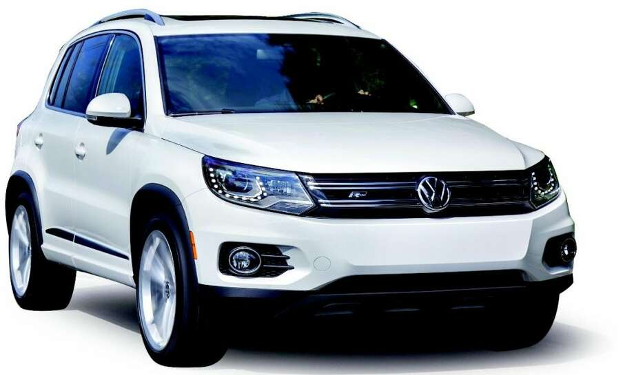 volkswagen reveals new r line for 2014 tiguan sfgate. Black Bedroom Furniture Sets. Home Design Ideas