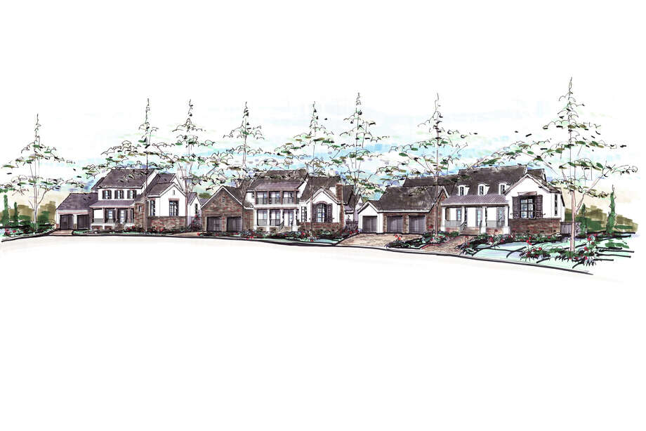 Frankel Building Group has plans for some 55 homes in The Woodlands Reserve, in the Village of Indian Springs. The houses will start at just above $1 million. Photo: Frankel Building Group