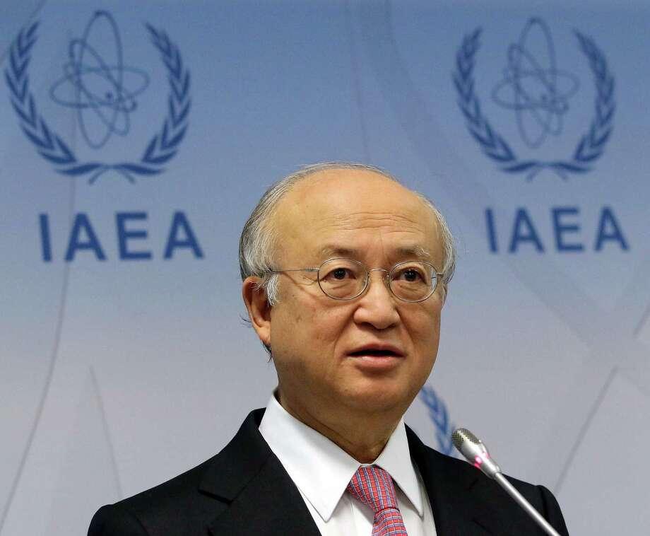 Yukiya Amano said IAEA would inspet the plant in Arak, Iran.