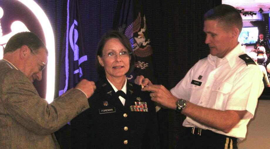 Earlier this year, Kathleen Putnam Foreman was promoted to the Army rank of colonel. Photo: Courtesy Photo