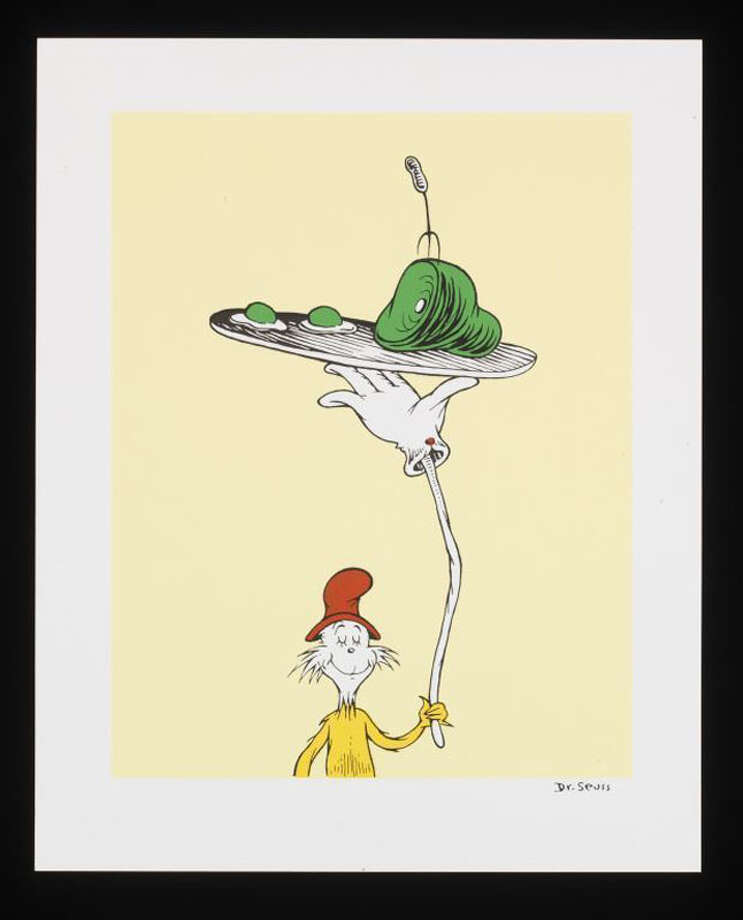 Check out Houston's (classic and) creative takes on ham and eggs. Photo: © 1957 Dr. Seuss Enterprises, L.P.