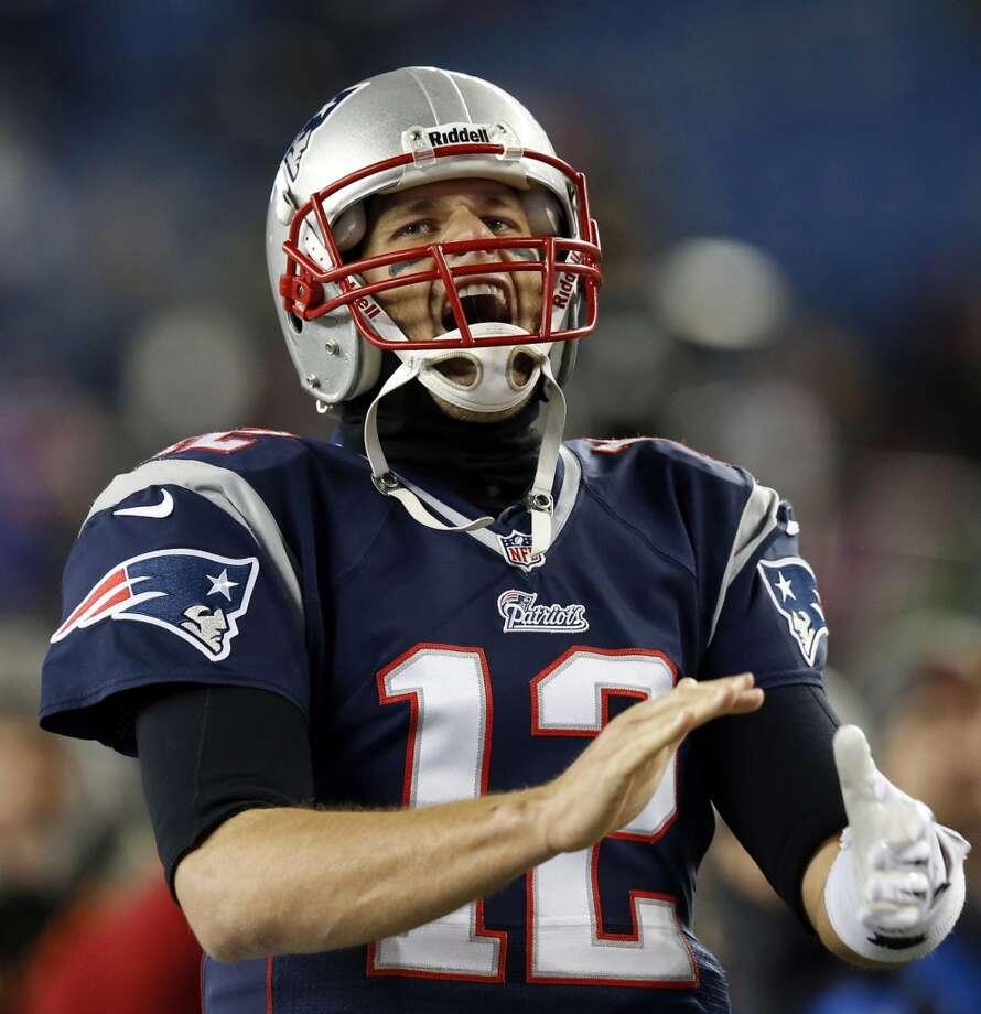 New England (8-3) minus-7 at Houston (2-9): Patriots 30-13 Photo: Elise Amendola, Associated Press