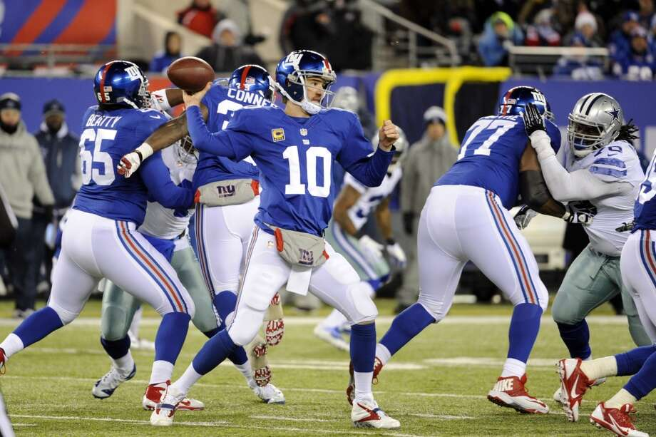 NY Giants (4-7) minus-1 ½ at Washington (3-8): Giants 23-20 Photo: Bill Kostroun, Associated Press