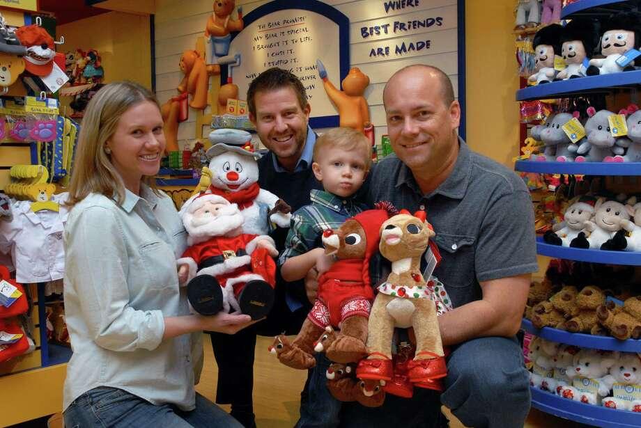 Left to right: Brande Nester, Chris Foster, Bennett Nester and Randy Nester