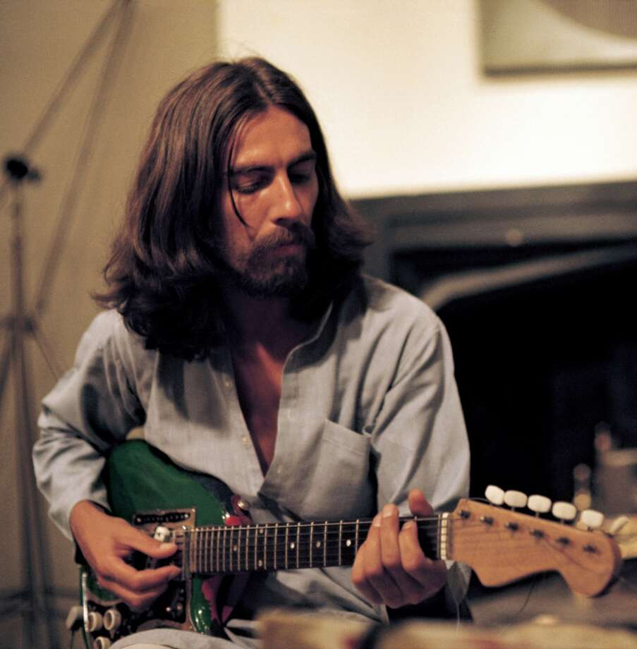 image of George Harrison from the Martin Scorsese documentary George Harrison: Living in the Material World GEORGE HARRISON: LIVING IN THE MATERIAL WORLD. photo:   Apple Corps Limited/ courtesy of HBO Photo: Apple Corps Ltd/HBO