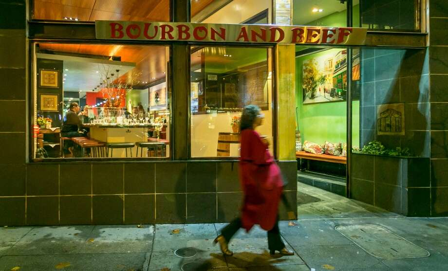 The exterior of Bourbon and Beef in Oakland. Photo: John Storey, Special To The Chronicle