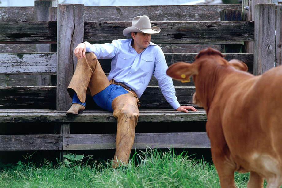 Nolan Ryan of the Houston Astros at one of his ranches on September 15, 1986 in Houston, Texas.   (Photo by Ronald C. Modra/Sports Imagery/Getty Images) Photo: Ronald C. Modra/Sports Imagery, Getty Images / 1986  Ronald C. Modra/Sports Imagery