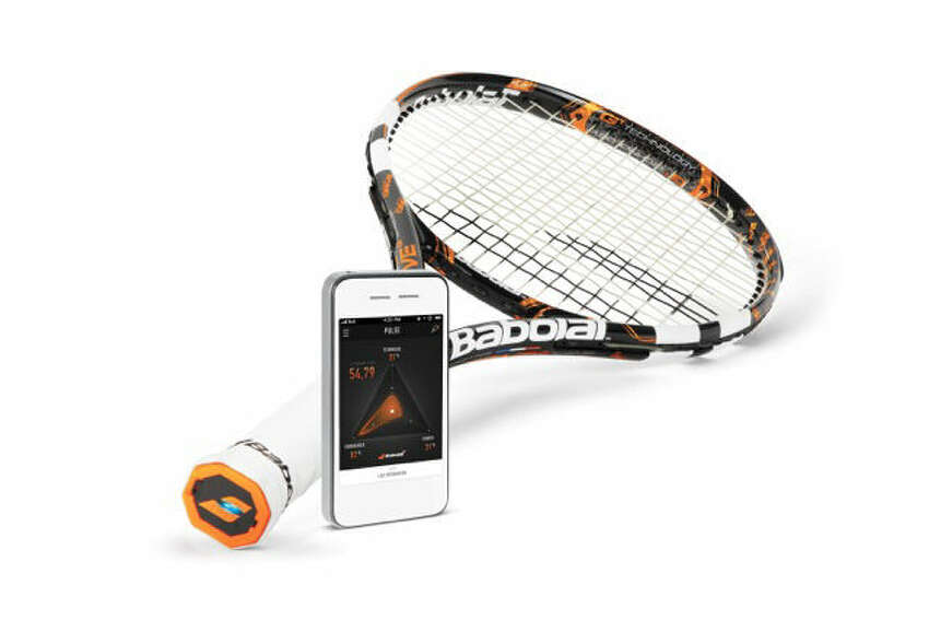 Babolat Play racquet: From the brand of top tennis player Rafael Nadal comes the Play, an innovative racquet with embedded technology to track data from each game, including shot power, spin level, play time and number of strokes. Players can transmit their information to a smartphone or computer to review their performance and share their stats. Available in January for $399 at First Serve Tennis, 1931 NW Military Highway, 210-349-3439