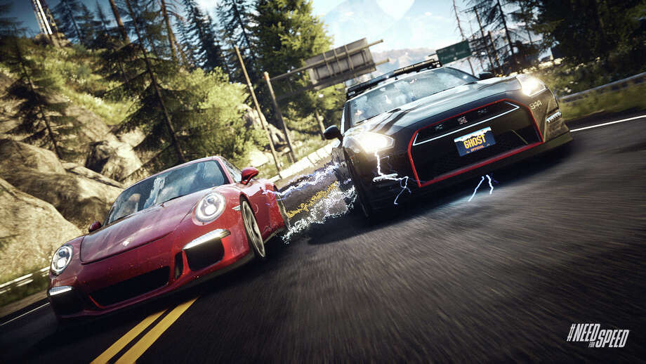 "This photo provided by Electronic Arts shows a scene from the video game, ""Need for Speed: Rivals."" (AP Photo/Electronic Arts) ORG XMIT: CAET519 / Electronic Arts"