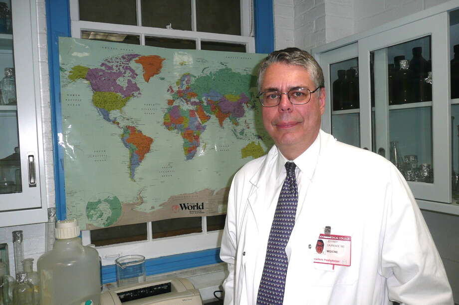 Dr. Jeffrey Laurence of Greenwich has been instrumental in the initial identification of the HIV/AIDS virus and efforts towards its cure. Photo: Contributed Photo / Greenwich Time contributed