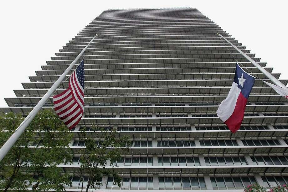 ExxonMobil building at 800 Bell. Photo: James Nielsen, Staff / © 2013  Houston Chronicle