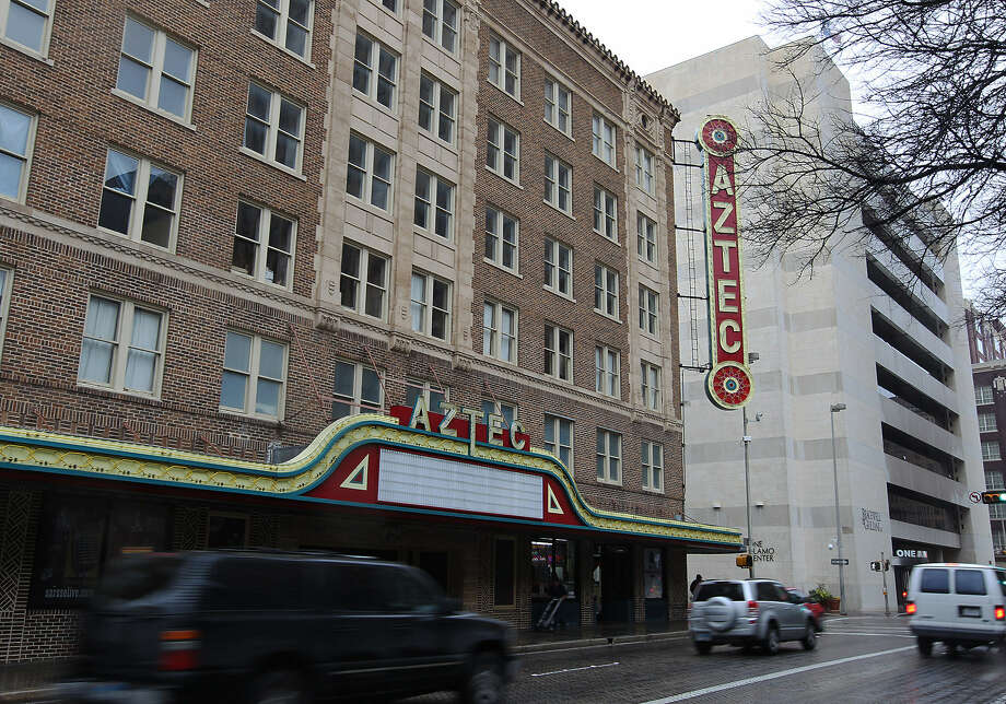 Real estate investment company Kennedy Wilson announced Friday the sale of the historic Aztec Theatre building. Photo: Express-News File Photo