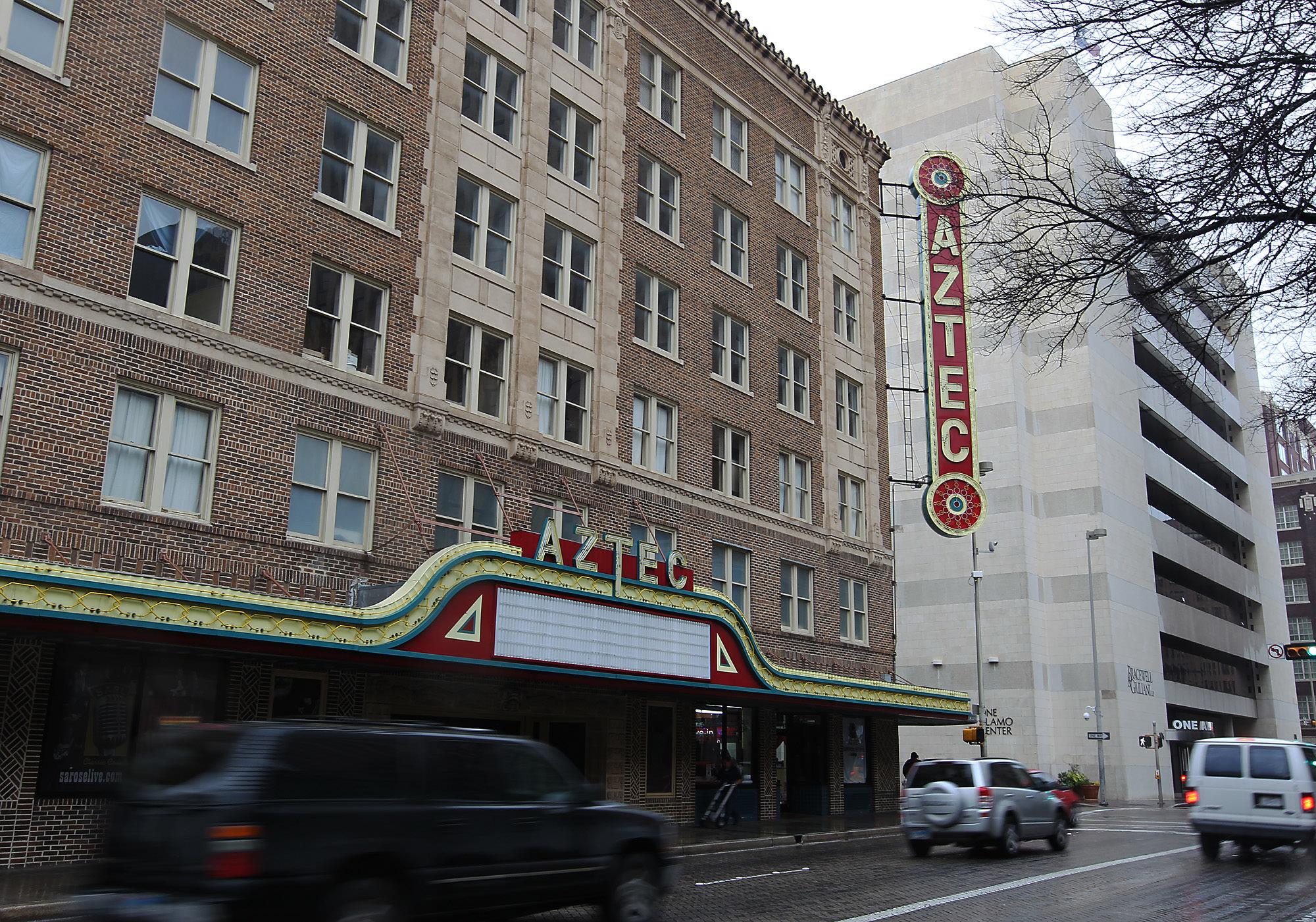 The New Aztec Theatre San Antonio Express News