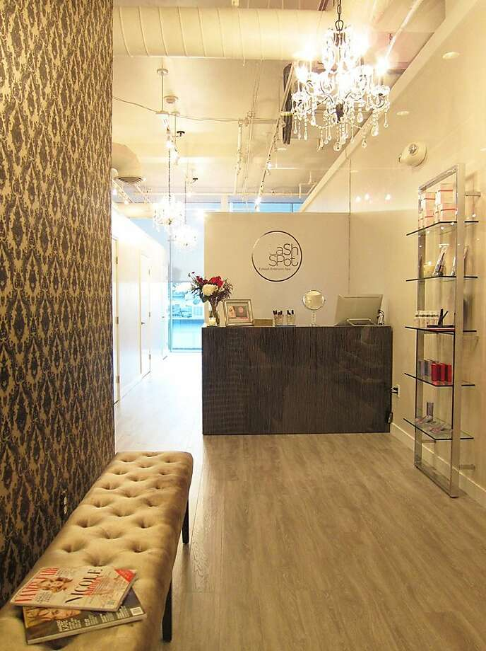 LashSpot is a new lash-extension spa in Japantown. It's the first franchise for the Orange County spa. Photo: LashSpot