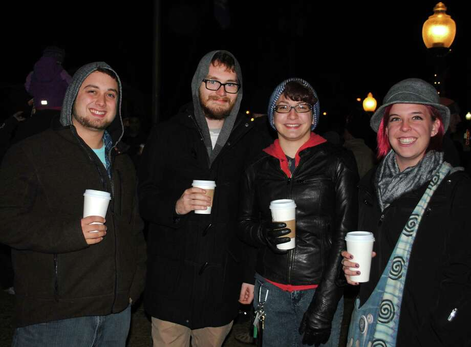 Were you SEEN at the Bethel Chamber of Comerce's Annual Tree Lighting? Friday, November, 29, 2013. Photo: Wendy Mitchell
