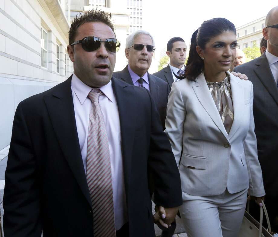 """A lavish lifestyle kept the cameras on """"Real Housewives of New Jersey"""" stars Teresa and Joe Giudice. But when the cameras were off, their lives were anything but fabulous. The couple were indicted on federal fraud charges, accused of lying on mortgage and loan applications, among other things. They could each land in prison for 50 years."""