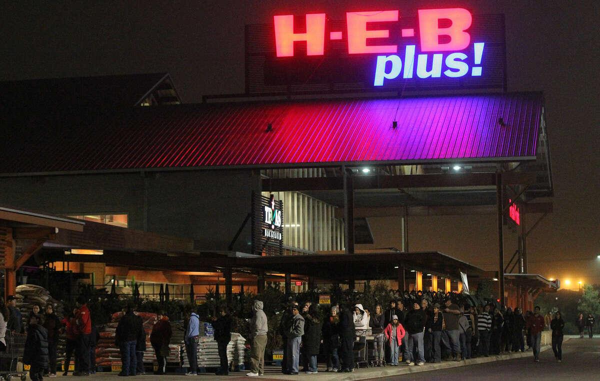 H-E-B Closes at 2 p.m.