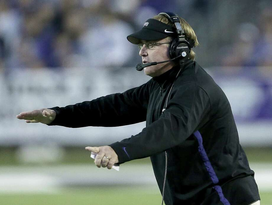 Gary Patterson hasn't been able to transfer TCU's success in the Mountain West to the Big 12. In nearly two full seasons since joining the tougher league, the Horned Frogs have gone 11-13. Photo: Charlie Riedel / Associated Press