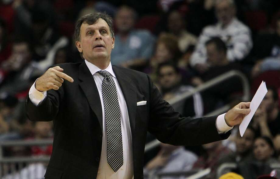 Rockets head coach Kevin McHale. Photo: James Nielsen, Houston Chronicle