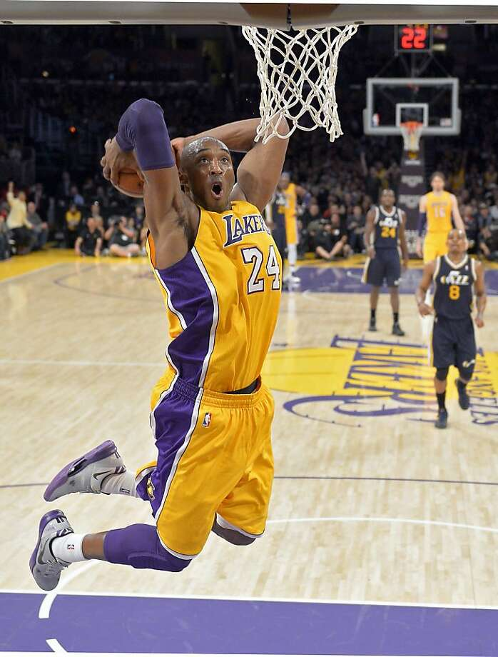 Kobe Bryant spending his entire career in Los Angeles would be astounding in this day and age. But his salary will rob the Lakers of any chance to contend. Photo: Mark J. Terrill, Associated Press