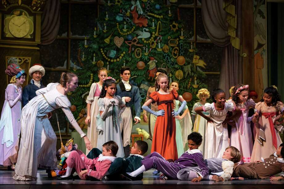 Performers present a dress rehearsal of the upcoming 30th anniversary production of Pacific Northwest BalletÕs internationally acclaimed Nutcracker Friday, Nov. 29, 2013, at McCaw Hall in Seattle. Thirty-one performances of the Nutcracker will run between November 30 through December 29 of this year. Photo: JORDAN STEAD, SEATTLEPI.COM / SEATTLEPI.COM