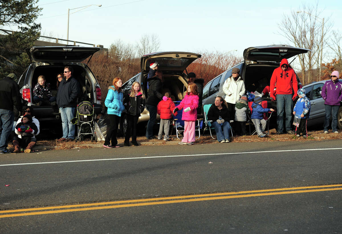 The 42nd Annual Seymour Merchants Christmas Parade in downtown Seymour, Conn. on Saturday November 30, 2013.