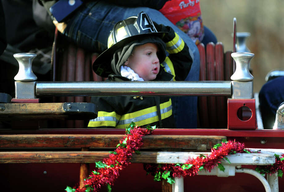 The 42nd Annual Seymour Merchants Christmas Parade in downtown Seymour, Conn. on Saturday November 30, 2013. Photo: Christian Abraham / Connecticut Post