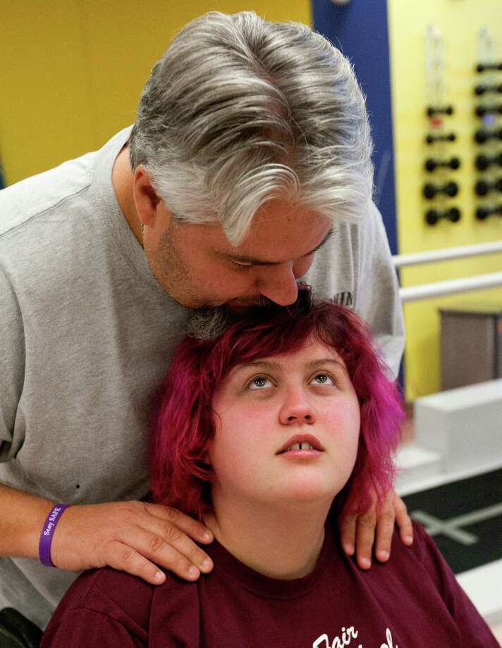 Tommy Bryant's stepdaughter, Emily Bauer, lost much of her eyesight and the use of her arms after smoking synthetic marijuana caused a series of strokes. She is going through physical rehabilitation at the Institute for Rehabilitation and Research outpatient facility at Memorial Hermann Northwest Hospital.