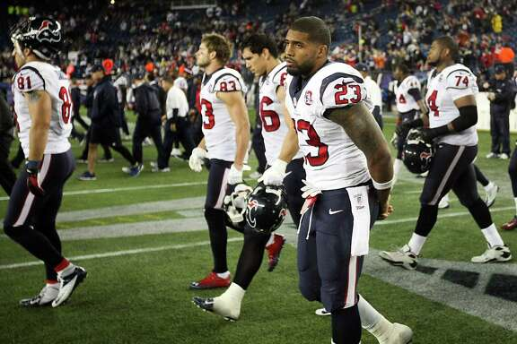 The Texans have experienced their fair share of disappointments at the hands of the Patriots. This season's skidding, banged-up squad does not appear to have a chance to change that.