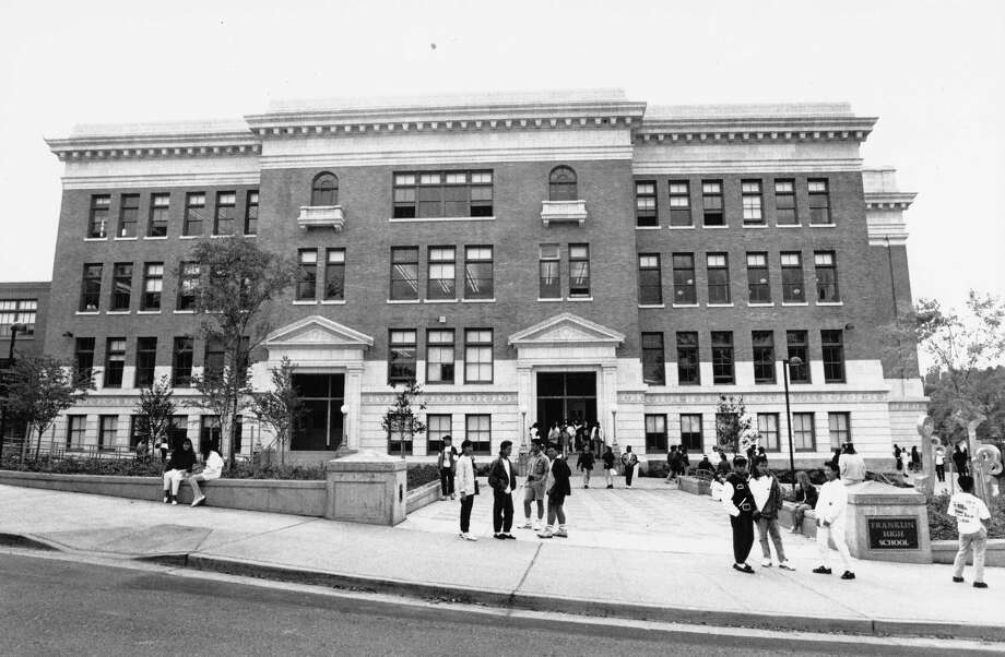 Franklin High School on Sept. 12, 1990.  Photo: -