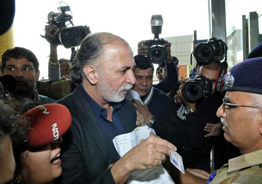 Tarun Tejpal and his magazine have carried out investigations that damaged Hindu nationalist figures and the opposition Bharatiya Janata Party. Photo: Photo For Getty Images