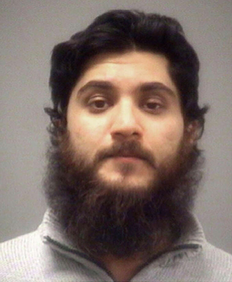 FILE - This undated file photo provided by the Wake County Sheriff's Office via The News & Observer, shows Basit Javed Sheikh. Sheikh, 29, of Cary, N.C., a Pakistani native living in the U.S., is facing federal charges that he sought to join an al-Qaida-linked militant group fighting the regime of Syrian President Bashar Assad. He is charged in a federal criminal indictment with attempting to provide material support to a foreign terrorist organization. He was arrested on Nov. 2 before boarding the first of a series of flights that would take him to Lebanon. (AP Photo/Wake County Sheriff's Office via The News & Observer) ORG XMIT: NCRAL601 Photo: Uncredited / Wake County Sheriff's Office via The News & Observer
