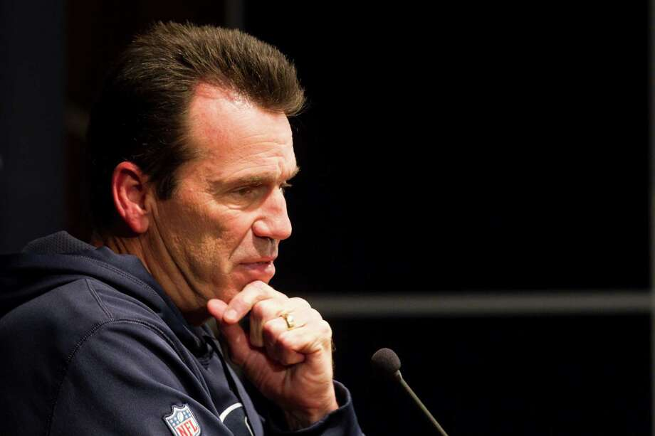 Houston Texans head coach Gary Kubiak speaks to the media during a news conference at Reliant Stadium on Monday, Nov. 25, 2013, in Houston. ( Brett Coomer / Houston Chronicle ) Photo: Brett Coomer, Staff / © 2013  Houston Chronicle