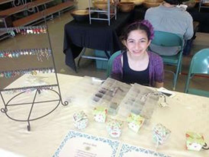Eden Weinstein makes earrings, bulletin boards and holiday cards and will be part of the 30th annual