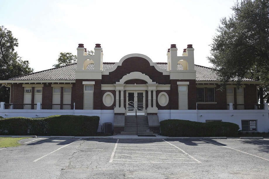 Hot Wells Ballroom, with its eclectic edifice on the Southeast Side, was built as a girls' school in 1916 then became a sanitorium before a series of incarnations as offices and clinics. Photo: San Antonio Express-News