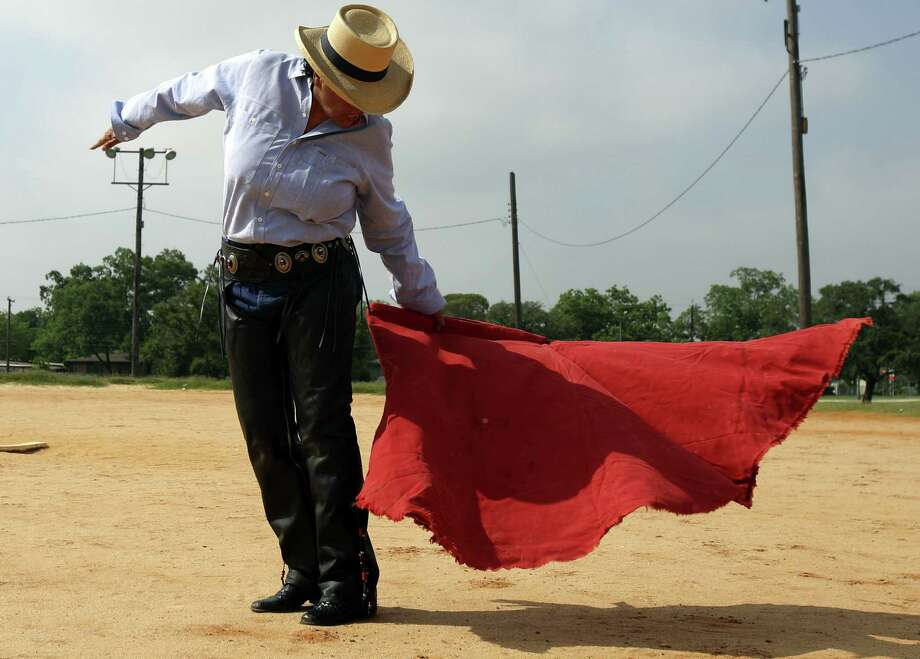 Beatriz Romero moved to Mexico after graduating from high school to learn to become a bullfighter. Photo: Helen L. Montoya / San Antonio Express-News