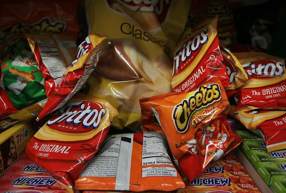 Food stamps can be used to purchase chips and other foods considered unhealthy. Photo: Leah Millis, The Chronicle