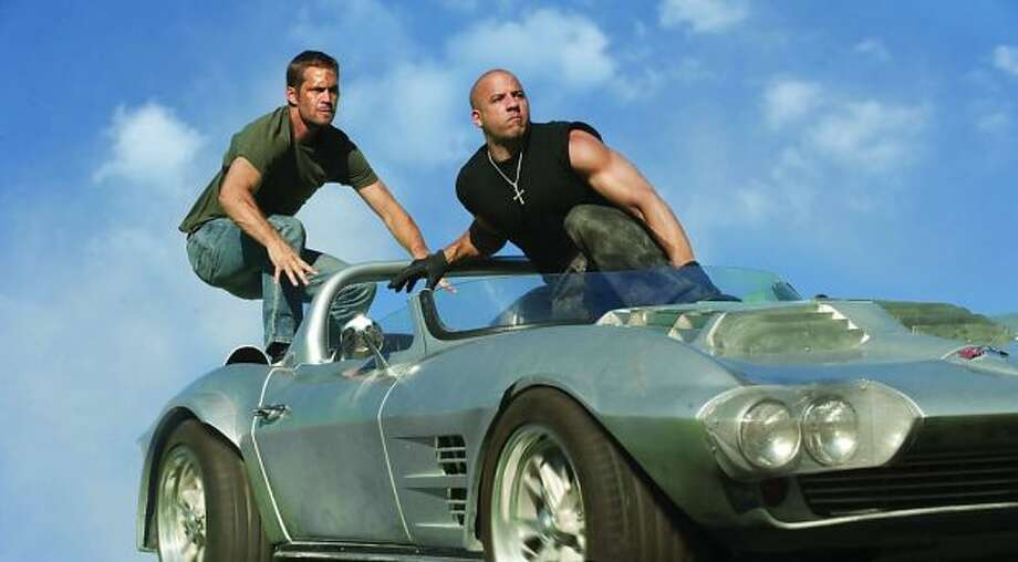 A production still from FAST FIVE.